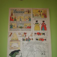 Coleccionismo Recortables: RECORTABLE EDICIONES TBO COLECCIÓN MAGISTER LA CENICIENTA. Lote 55860794