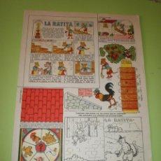 Coleccionismo Recortables: RECORTABLE EDICIONES TBO COLECCIÓN MAGISTER LA RATITA. Lote 55860826