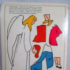 Coleccionismo Recortables: RECORTABLE RETAZOS , MODELO Nº 3 , M. A. SALVATELLA , RELIGIÓN , VIRGEN. Lote 56048491