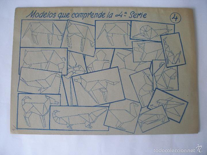 Coleccionismo Recortables: Trabajos manuales Una hoja de papel nº 3 Editorial Salvatella años 60, Sin uso - Foto 2 - 57282636