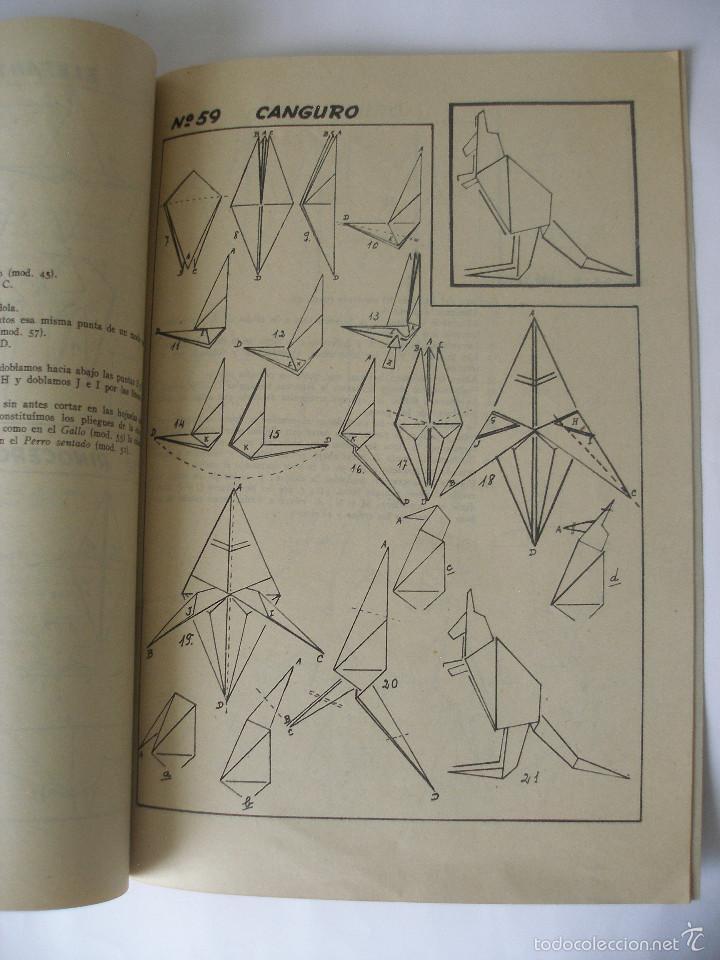 Coleccionismo Recortables: Trabajos manuales Una hoja de papel nº 3 Editorial Salvatella años 60, Sin uso - Foto 4 - 57282636