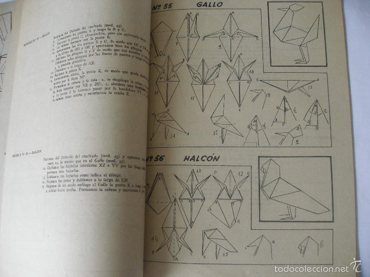 Coleccionismo Recortables: Trabajos manuales Una hoja de papel nº 3 Editorial Salvatella años 60, Sin uso - Foto 6 - 57282636