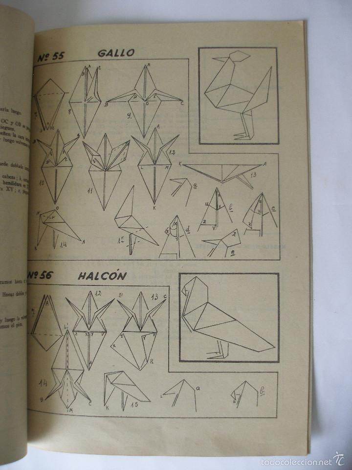 Coleccionismo Recortables: Trabajos manuales Una hoja de papel nº 3 Editorial Salvatella años 60, Sin uso - Foto 7 - 57282636