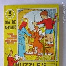 Coleccionismo Recortables: PUZZLES ENGOMADOS A RECORTAR Y PEGAR ''3 DIA DE MERCADO'' 1965 . Lote 57761411