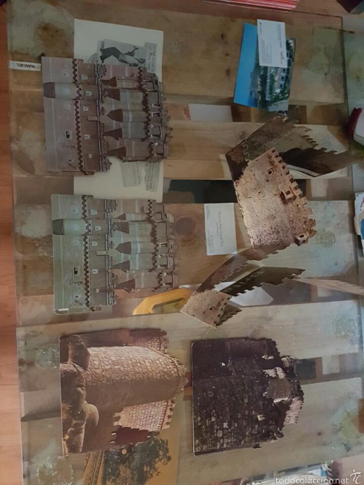 Coleccionismo Recortables: Lote de coleccionables escudos de fútbol. Coches.castillos.etc.... - Foto 4 - 58272226