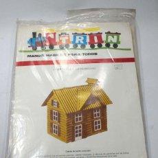 Coleccionismo Recortables: TRIN, MANOS HABILES PARA TODOS Nº 59 CASITAS DE CARTON ONDULADO 1971. Lote 58483068