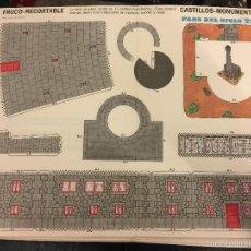 Coleccionismo Recortables: ANTIGUO RECORTABLE FRUCO - RECORTABLE, CASTILLOS - MONUMENTOS N.9- FARO DEL S.XIX. Lote 76573315