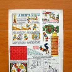 Coleccionismo Recortables: LA RATITA - RECORTABLE EDICIONES TBO - VER FOTOS INTERIORES. Lote 72881567