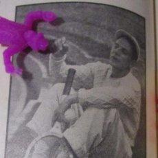 Coleccionismo Recortables: EL TENISTA SAMPER SEXTUPLE CAMPEON 1950 RECORTE REVISTA ANTIGUO S7.36. Lote 76637955