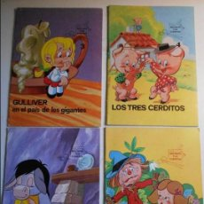 Coleccionismo Recortables: RECORTA TUS CUENTOS. LOTE DE 4 NUMEROS: 1, 2, 3 Y 4. EL MAGO DE OZ. PIEL DE ASNO. GULLIVER EN EL PAI. Lote 77317009