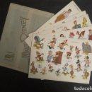 Coleccionismo Recortables: RECORTABLES WALT DISNEY - EDITORIAL ROLLAN - 6 LAMINAS DUMBO,CENICIENTA ...- VER FOTOS - (V- 9509). Lote 78623345