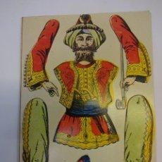 Coleccionismo Recortables: PIRATA ORIENTAL TROQUELADO EN CARTÓN. MED: 24 X 17 CTMS.. Lote 79132825