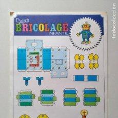 Coleccionismo Recortables: RECORTABLES SUPER BRICOLAGE INFANTIL. EDICIONES BEASCOA. ROBOT. Lote 83407548