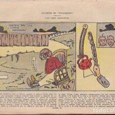 Coleccionismo Recortables: RECORTABLE JUGUETES DE PULGARCITO LOS TRE AMIGUITOS. Lote 83900964