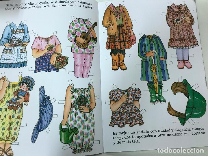 Coleccionismo Recortables: MODISTA INFANTIL, CUENTO RECORTABLE. NUM. 4. EDITORIAL FHER. 1993 - Foto 3 - 84864204