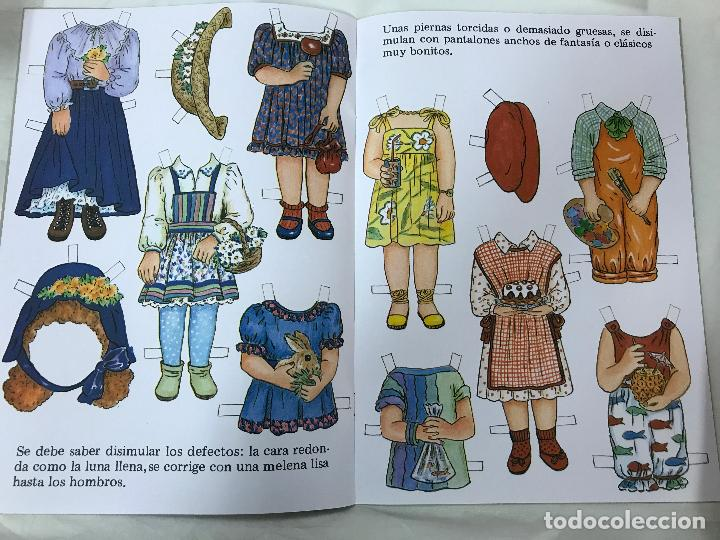 Coleccionismo Recortables: MODISTA INFANTIL, CUENTO RECORTABLE. NUM. 4. EDITORIAL FHER. 1993 - Foto 4 - 84864204