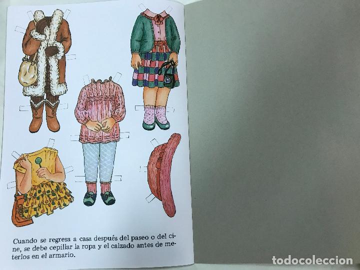 Coleccionismo Recortables: MODISTA INFANTIL, CUENTO RECORTABLE. NUM. 4. EDITORIAL FHER. 1993 - Foto 5 - 84864204