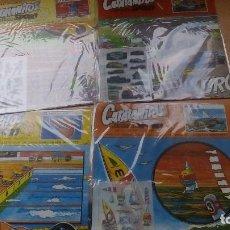 Coleccionismo Recortables: RECORTABLE CATALANITOS SPORT LOTE 4 UDS. DIFERENTES 1.980 NUEVOS A ESTRENAR FIGURAS Y CALCOMANIAS. Lote 86236332