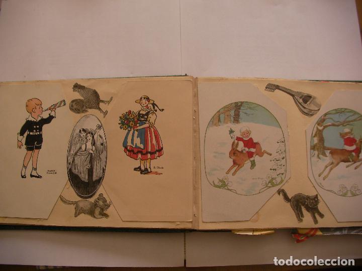 Coleccionismo Recortables: ANTIGUO ALBUM DE RECORTABLES Y CROMOS VARIOS INFANTIL CON VARIAS PAGINAS - Foto 4 - 86315320