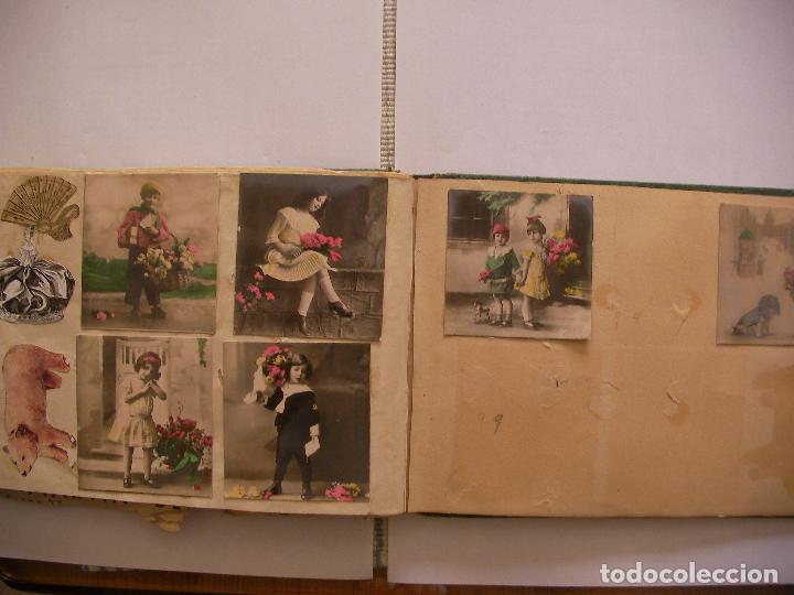 Coleccionismo Recortables: ANTIGUO ALBUM DE RECORTABLES Y CROMOS VARIOS INFANTIL CON VARIAS PAGINAS - Foto 10 - 86315320