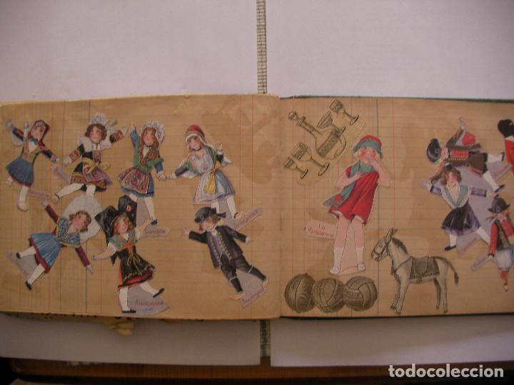 Coleccionismo Recortables: ANTIGUO ALBUM DE RECORTABLES Y CROMOS VARIOS INFANTIL CON VARIAS PAGINAS - Foto 11 - 86315320