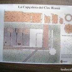 Coleccionismo Recortables: RECORTABLE LA CAPÇALERA DEL CIRC ROMA, CABECERA DEL CIRCO ROMANO TARRAGONA (NOU DIARI ) - 41 X 18,5. Lote 89229200