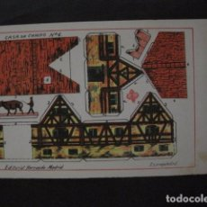 Coleccionismo Recortables: RECORTABLE EDITORIAL HERNANDO MADRID - Nº 6 - CASA DE CAMPO - VER FOTOS - (V-11.477). Lote 89382680