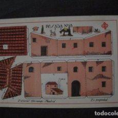 Coleccionismo Recortables: RECORTABLE EDITORIAL HERNANDO MADRID - Nº10 - POSADA - VER FOTOS - (V-11.479). Lote 89382940