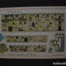 Coleccionismo Recortables: RECORTABLE EDITORIAL HERNANDO MADRID - Nº11- CASTILLO - VER FOTOS - (V-11.480). Lote 89383808
