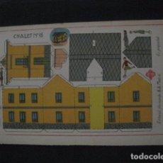 Coleccionismo Recortables: RECORTABLE EDITORIAL HERNANDO MADRID - Nº15 - CHALET - VER FOTOS - (V-11.483). Lote 89383980