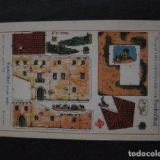 Coleccionismo Recortables: RECORTABLE EDITORIAL HERNANDO MADRID - Nº 27 - TORRE - VER FOTOS - (V-11.487). Lote 89384264
