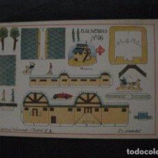 Coleccionismo Recortables: RECORTABLE EDITORIAL HERNANDO MADRID - Nº 46 - BALNEARIO - VER FOTOS - (V-11.496). Lote 89385256