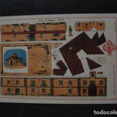 Coleccionismo Recortables: RECORTABLE EDITORIAL HERNANDO MADRID - Nº 66- CASA SOLARIEGA - VER FOTOS - (V-11.499). Lote 89386464
