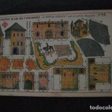 Coleccionismo Recortables: RECORTABLE EDITORIAL HERNANDO MADRID - Nº 84- PRINCIPE GENEROSO - VER FOTOS - (V-11.505). Lote 89387248