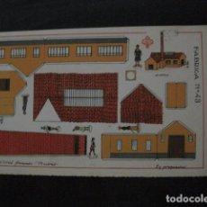 Coleccionismo Recortables: RECORTABLE EDITORIAL HERNANDO MADRID - Nº 43 - FABRICA - VER FOTOS - (V-11.511). Lote 89387656