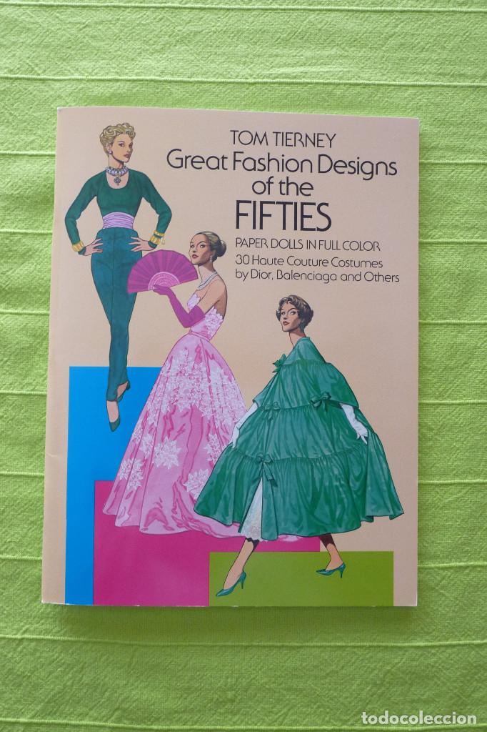 RECORTABLE - GREAT FASHION DESING OF THE FIFTIES (Coleccionismo - Otros recortables)