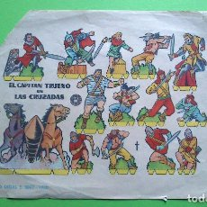 Coleccionismo Recortables: RECORTABLES BRUGUERA - EL CAPITAN TRUENO EN LAS CRUZADAS 1960. Lote 94884691