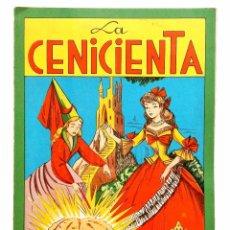 Coleccionismo Recortables: CUENTO RECORTABLE Nº 4 LA CENICIENTA EDITORIAL FHER 1959. Lote 96183371