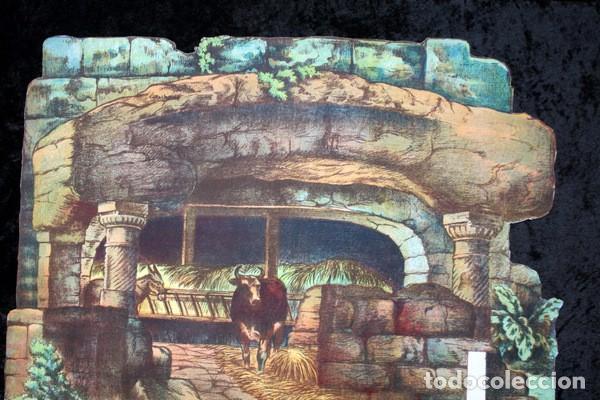 Coleccionismo Recortables: GRANDES HOJAS DE CONSTRUCCION - NACIMIENTO - SALVATELLA - RECORTABLE - RARO - ESCENARIO - Foto 3 - 97364931