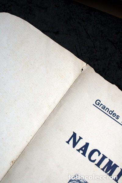 Coleccionismo Recortables: GRANDES HOJAS DE CONSTRUCCION - NACIMIENTO - SALVATELLA - RECORTABLE - RARO - ESCENARIO - Foto 5 - 97364931