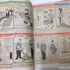 Coleccionismo Recortables: ESPECTACULAR DOSSIER CON CIENTOS DE RECORTABLES, DONDE EL TEMA ES EL HUMOR Y LAS CARICATURAS, RARO. Lote 98197199