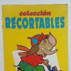 Coleccionismo Recortables: COLECCION RECORTABLE Nº1. SUSAETA EDICIONES 1982. Lote 99252775