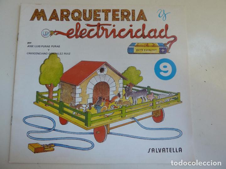MARQUETERÍA Y ELECTRICIDAD. Nº 9. GRANJA MÓVIL (Coleccionismo - Otros recortables)