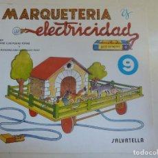 Coleccionismo Recortables: MARQUETERÍA Y ELECTRICIDAD. Nº 9. GRANJA MÓVIL. Lote 101454071