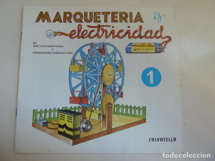 MARQUETERÍA Y ELECTRICIDAD. Nº 9. NORIA (Coleccionismo - Otros recortables)