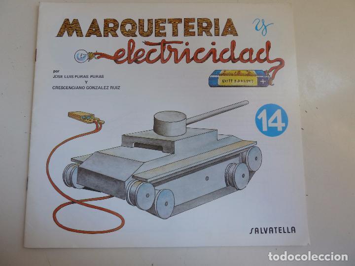 MARQUETERÍA Y ELECTRICIDAD. Nº 14. TANQUETA (Coleccionismo - Otros recortables)