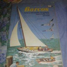 Coleccionismo Recortables: EXTRAÑO LIBRO RECORTABLE PARA BARCOS. Lote 104730912