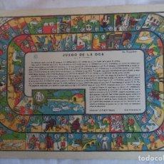 Coleccionismo Recortables: JUEGO DE LA OCA.LA TIJERA SERIE 10 Nº 118. Lote 106185795