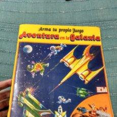 Coleccionismo Recortables: ARMAJUEGO DE MUNDIS 1978 AVENTURA EN LA GALAXIA CIENCIA FICCIÓN RARO RECORTABLE. Lote 107362996