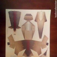 Coleccionismo Recortables: RECORTABLE PANINI DINOSAURIO AÑOS 90. Lote 107945807
